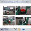 25 FT-Gummiballen-Ausschnitt-Maschine mit hydraulischem