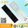 60watts LiFePO4 리튬 건전지를 가진 한세트 통합 태양 LED 가로등