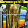 Высокое качество Chrome Gold Car Vinyl 1.52m*30m