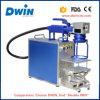Mini machine portative d'inscription de laser de la fibre 20W pour les boucles en acier/plastique