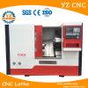 선택적인 시멘스 시스템 기울기 침대 CNC 선반
