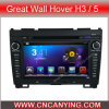 Coches reproductor de DVD para Pure Android 4.2.2 de coches reproductor de DVD con pantalla táctil capacitiva A9 CPU GPS Bluetooth para Great Wall Hover H3 / 5 (AD-7701)