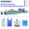 Tecido não carreg o saco que faz a maquinaria de preço da máquina