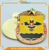 Pin del distintivo del metallo dell'oro 3D di placcatura