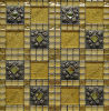 수정같은 Glass Mosaic, Resin Mix Diamond Crystal Mosaic Pattern, Glass Mosaic (48FD02)