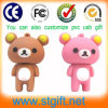 USB Flash Drive di Gift Custom Bear Different Shape 1GB di cerimonia nuziale