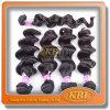 黒い7AブラジルのRemy Hair Weft