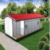 Schnelles zusammengebautes vorfabriziertes Stahlhaus/Häuser