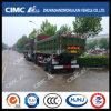 Carro de vaciado de Beiben 6*4 con Cimc el rectángulo consolidado Huajun del cargo