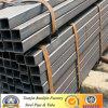 Cuadrado con poco carbono y pipa de acero rectangular