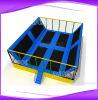 De hoogste Verkoop Gepatenteerde Trampoline van de Jonge geitjes van het Ontwerp Grote