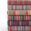 Tissu 100% estampé de sofa de Linenette de polyester de toile