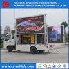 LEIDENE van de Vrachtwagen van de Reclame van Foton de Vrachtwagen van het Kleine OpenluchtScherm van de Vertoning