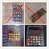 Bandejas plásticas del huevo de codornices del animal doméstico claro reciclable de China para el embalaje