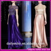 Robe sexy de /Party de robe de soirée de satin de dessus de lacet de nouvelle de la mode 2015 longueur de plancher (E-5566)