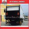 スライダのトラックのための油圧テール上昇