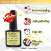40601X Nail Art Products, No Wipe Anti-Yellowing Soak off Canni Nail Gel Polish Topcoat