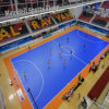 Hochwertiges Roll und Interlock Sport Floor für Football/Futsa Basketball L Court