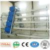 Maquinaria de exploração agrícola do equipamento de cultivo das aves domésticas com sistema automático da gaiola
