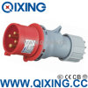 セリウムCertification (QX-264)とのIP44 Single Phase Industrial Coupler