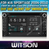 KIA Sportage (W2-D8527K)를 위한 GPS를 가진 Witson Special Car DVD Player