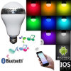 Smart multifonctionnel DEL Bulb Makes beaucoup de Fun Controlled par Smartphone et Infrared Remote Controller