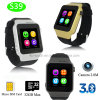 Nueva usable Android Bluetooth elegante reloj de pulsera (S39)