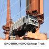 Caminhão de lixo de HOWO 6X4 para a venda