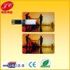 Movimentação plástica fina do flash do USB do cartão de crédito do OEM