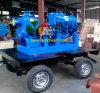 Bomba de aguas residuales de No-Obstrucción del oscurecimiento del uno mismo del motor diesel