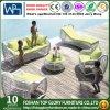 庭の屋外の家具のソファーの一定のPEの藤のソファー(TG-015)