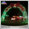 休日の装飾の通路LEDのクリスマスのモチーフのBowknotの街灯