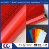 Rojo acrílico cintas reflectantes