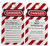 안전 차단 레이블 표시 안전 Tagout (OSHA-T03)