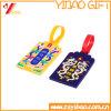 Étiquette molle de bagage de PVC de mode avec le logo gravé en relief (YB-LY-LT-31)