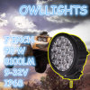 Hoge Power 90W Round LED Driving Lights 4X4 Boat Trucks, LED Work Lights 90W 7inch