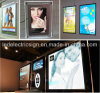 Slim acrylique Crystal Frame Light Box avec DEL Advertizing Display Board