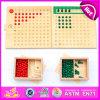 Комплект игрушки 2016 brandnew Preschool цифров ребенка, фасонирует деревянный комплект игрушки цифров, мозг W11A037 воспитательного малыша деревянный установленное играми