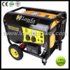 5kw 6.5kVA Handles & Wheels 100%년 Copper Alternator Portable Gasoline Generator