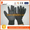Черная перчатка Dnn458 покрытия нитрила
