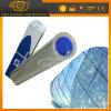 Film visible clair de protection de garantie de guichet en verre de la transparence 8mil