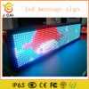 Text Message를 위한 실내 P10 LED Sign Board