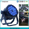 Outdoor Waterproof DMX Lumière RGBW 18X10W LED PAR Garden