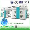 4 Farben-Papiercup-zentrale Trommel-flexographische Drucken-Maschine