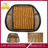 Coxim para trás feito massagens da cintura do carro do bambu