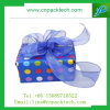 Diverso caja de regalo modificada para requisitos particulares color hermoso con la cinta