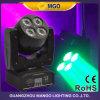 Concert allumant la double face RGBW 4 dans 1 mini lumière principale mobile