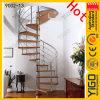 Escaleras espirales de madera