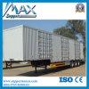 3 Axle Dry Van Semi Trailer con Aluminum Alloy Cargo Box