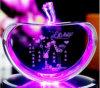 Beau cristal Apple de cadeaux de faveur de mariage de couleur de mode